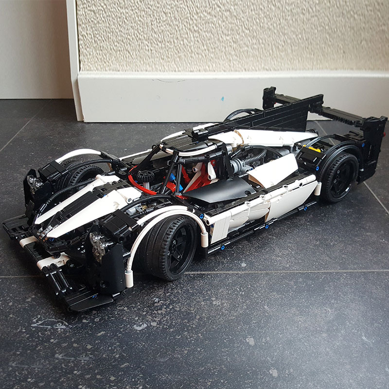 LEPIN Technique Série MOC Hybride Super Voiture De Course Champion Marvel Blocs Ensembles Kits Briques Jouets Compatible Legoings 5530