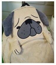 Japanese cute Pug backpack