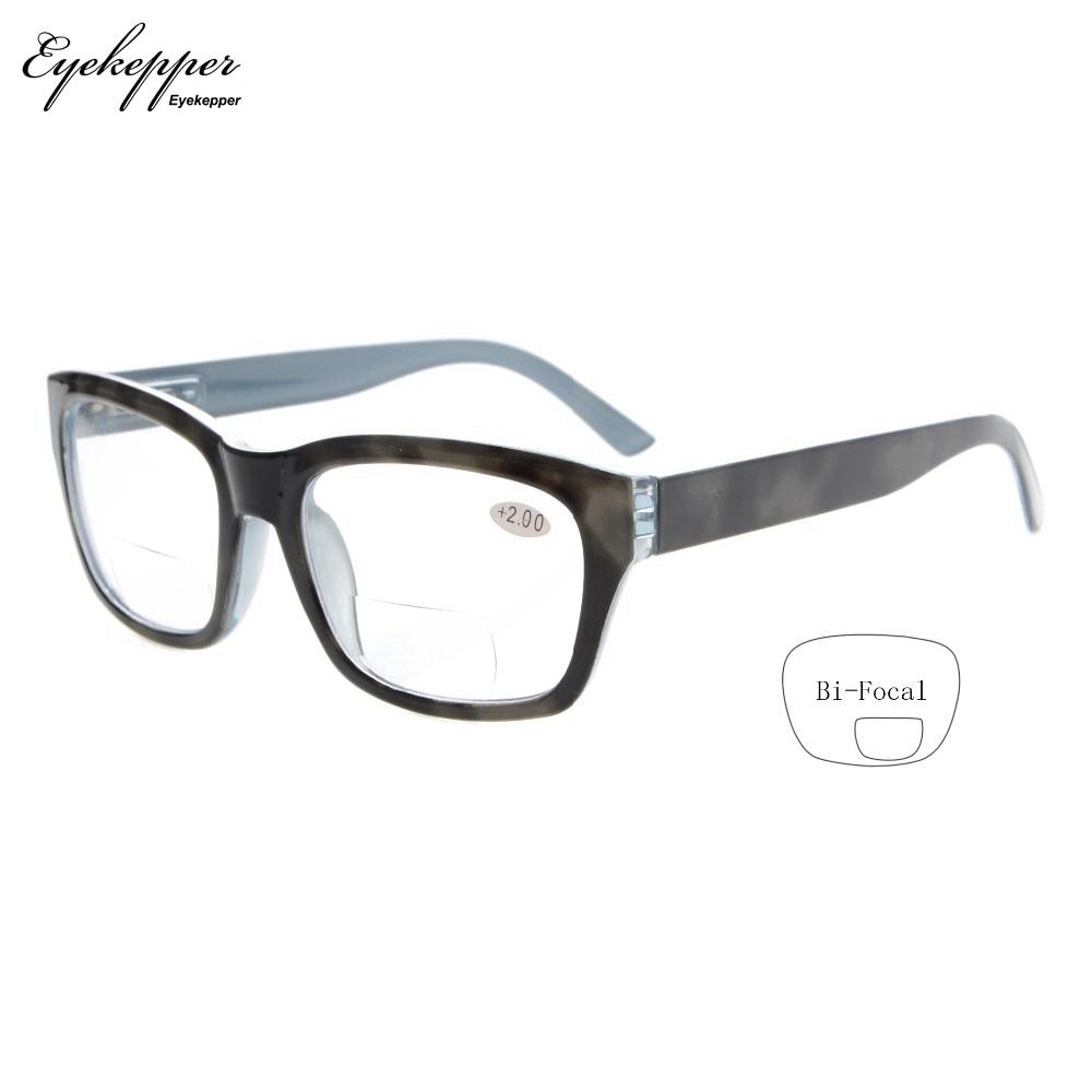 R045 Bifocal Eyekepper Polycarbonate Garis Lensa Besar Kacamata - Aksesori pakaian