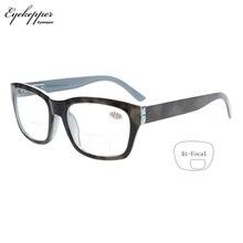 R045 Bifocal Eyekepper Polycarbonate Large Lens Line Bifocal Glasses Readers Men +1.0/1.5/2.0/2.5/3.0/3.5