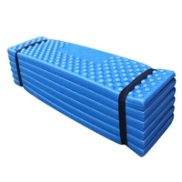 Outdoor Mat Ultralight Foam Picnic Mat Folding Park Mat Tent Sleeping Pad Moistureproof Colorful Camping Mattress
