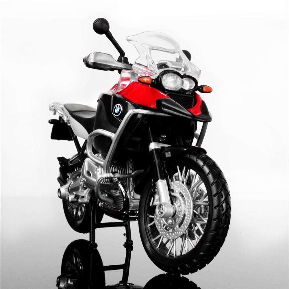 Maisto <font><b>1:12</b></font> R1200GS Metal <font><b>Diecast</b></font> Mini Moto Race Cars Collectible Miniature Boys Kids Toys Models of Motorcycles Children's Gift image