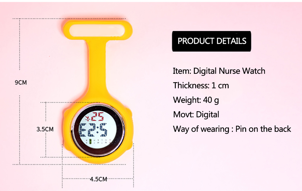 HTB1w8puelKw3KVjSZFOq6yrDVXaX - relogio reloj  Fob Nurse Brooch Pin Hang Pocket Electric Watch  Digital Display Dial Clip-On pocket watch watches