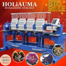 Высокое качество HO1504 четыре головы компьютерная вышивка machinr лучше, чем ЗСК вышивальная машина цена
