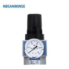 цена на UR High Flow Air Pressure Regulator High Reliability Pneumatic Compressed Air Parts Source Treatment Unit Piston Type Sanmin