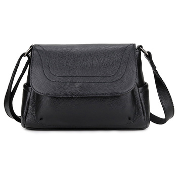 New Arrivals Guaranteed Women Leather Cross-body Bag Large Capacity Ladies Messenger Bag Cowhide Handbags Bolsas Feminina 2019