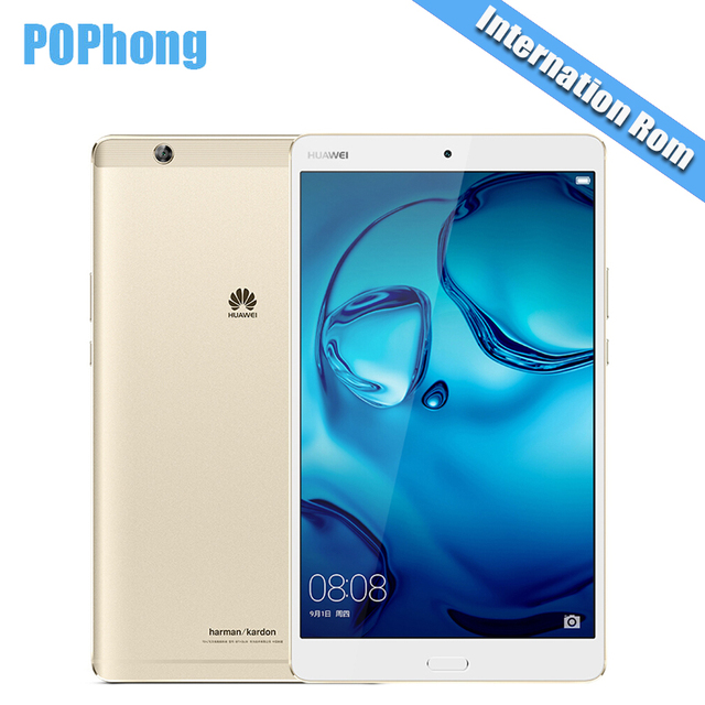 Международная прошивка Huawei MediaPad m3 4 ГБ Оперативная память 128 ГБ/64 ГБ Встроенная память Android Планшеты PC 2 К Экран KIRIN 950 Octa core 8.4 ''GPS P