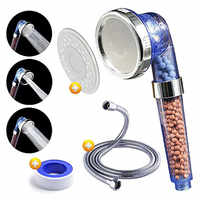 Lonic Pure Filter Shower Head High Pressure & Water Saving Showerhead for Best Shower Experience
