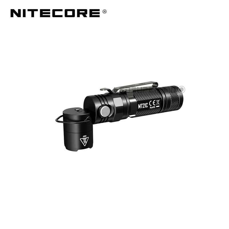 Image 4 - L Shaped Work Light Nitecore MT21C 1000 Lumens Compact EDC Torch 90 Angle Adjustable Flashlight with Magnetic Base-in Flashlights & Torches from Lights & Lighting