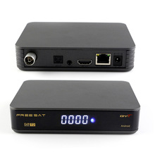 Smart tv box GTT android 6.0 with function of DVB C/T2 built