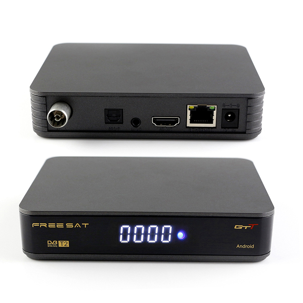 Smart tv box GTT android 6.0 with function of <font><b>DVB</b></font> <font><b>C</b></font>/T2 built in wifi image