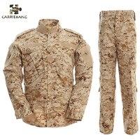 Пустынный камуфляж Мужская армейская Военная Униформа тактический военный Камуфляжный костюм Боевая форма США армейская военная одежда д...