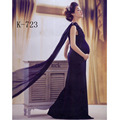 New Maternity Photography Props clothing for pregnant women Dress Pregnancy blue  Romantic photo Princess dress JLK-723