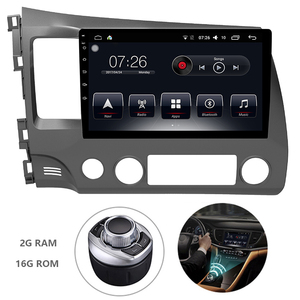 Android 7.1 1 Din Car Multimedia DVD Player For Honda CIVIC 2016-2018 GPS Navigation System With Carplay/Bluetooth/Dual-zone