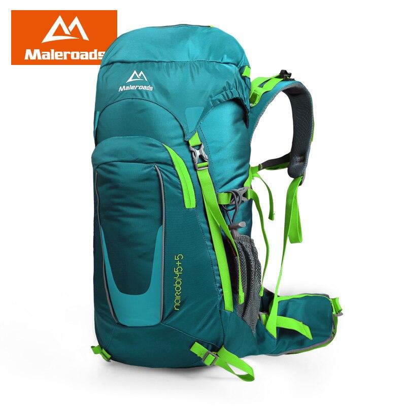 Maleroads New 45L Tourist Travel Backpack Outdoor Camping Hiking Mochila Trekking Bagpack Waterproof Climbing Bags For