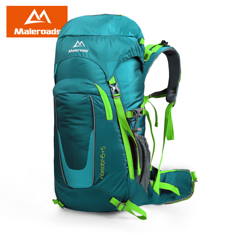 <font><b>Maleroads</b></font> New 45L Tourist Travel Backpack Outdoor Camping Hiking <font><b>Mochila</b></font> Trekking Bagpack Waterproof Climbing Bags For Men Women image