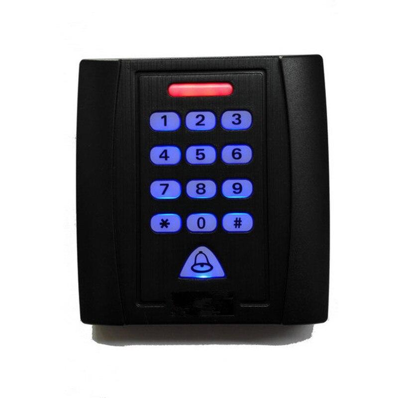 125KHz Single Door Proximity RFID Card Access Control Keypad Include 10 EM ID Keyfobs