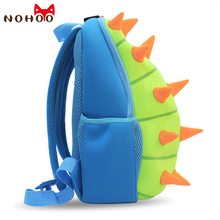 hot deal buy nohoo animals waterproof kids baby bags kindergarten neoprene dinosaur children school bags for girls boys cartoon school bags