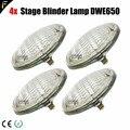4x Par 36 120В/650 Вт (DWE) студийный Блиндер матрица лампа источник WW2/4/8 производительность Blinders теплый 3200K свет эффект