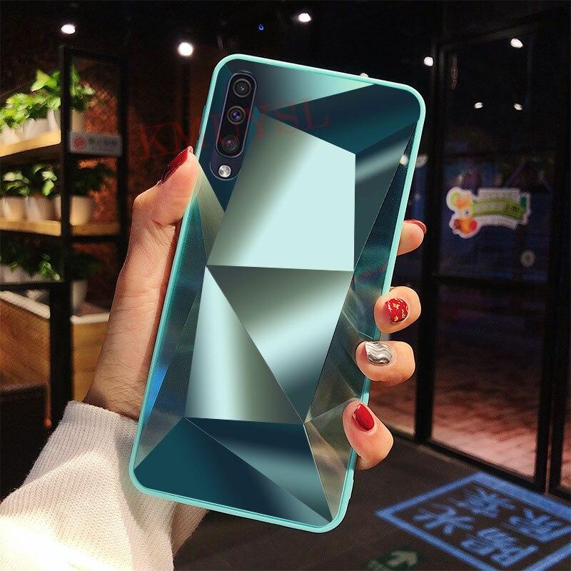 Чехол для Samsung Galaxy A50, роскошный блестящий чехол с бриллиантами для Samsung M30 A10 A20 A30 A40 A60 A70 A80 S10 Note 10 Plus, чехол - Цвет: 3