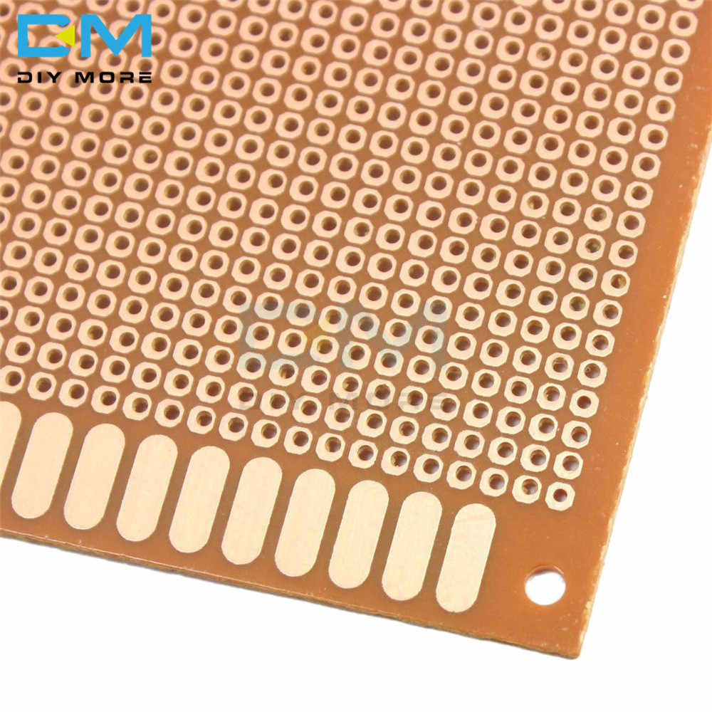 10x22cm 10*22CM 10x22 bricolage bakélite plaque papier Prototype PCB universel expérience matrice panneau simple face feuille de cuivre 10x22