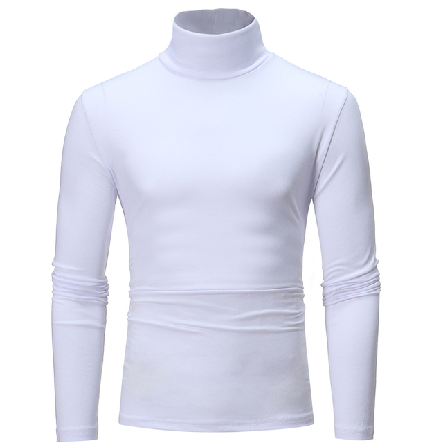 New 2019 Sping Fashion Mens Casual T-Shirts Long Sleeve Brand Clothing Man Slim Fit Clothes Male Wear Tops Tees Plus Size XXXL