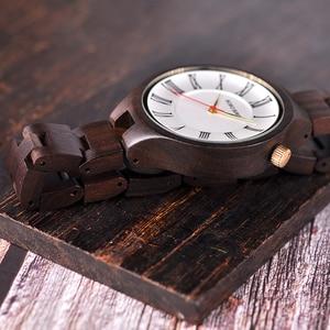 Image 4 - BOBO BIRD nouveau luxe dames bois montres conception spéciale à la main en bois montre bracelet pour les femmes relogio feminino livraison directe