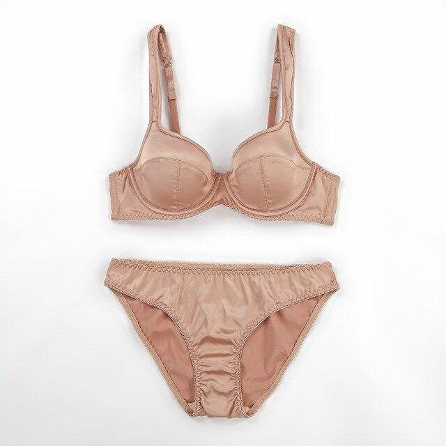 New arrival adjustment sexy thin bra set summer brassiere sets large size women underwear cotton breathing female lingerie
