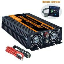 純粋な正弦波力インバーター 12V に 220V 1000 ワット 2000 ワットピーク周波数コンバータ電源