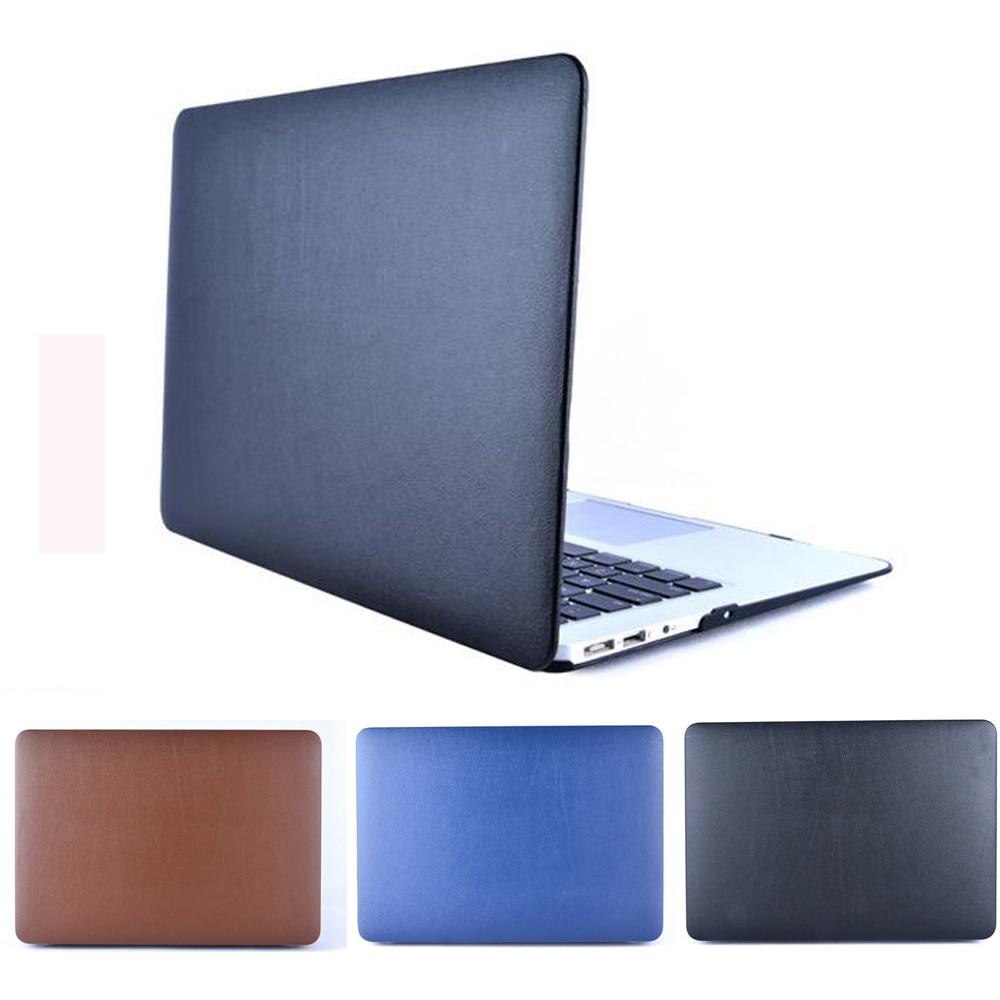 PU Leather Case Sleeve Bag Soft Shell For 15.4/'/' Macbook Pro Retina A1398 A1286