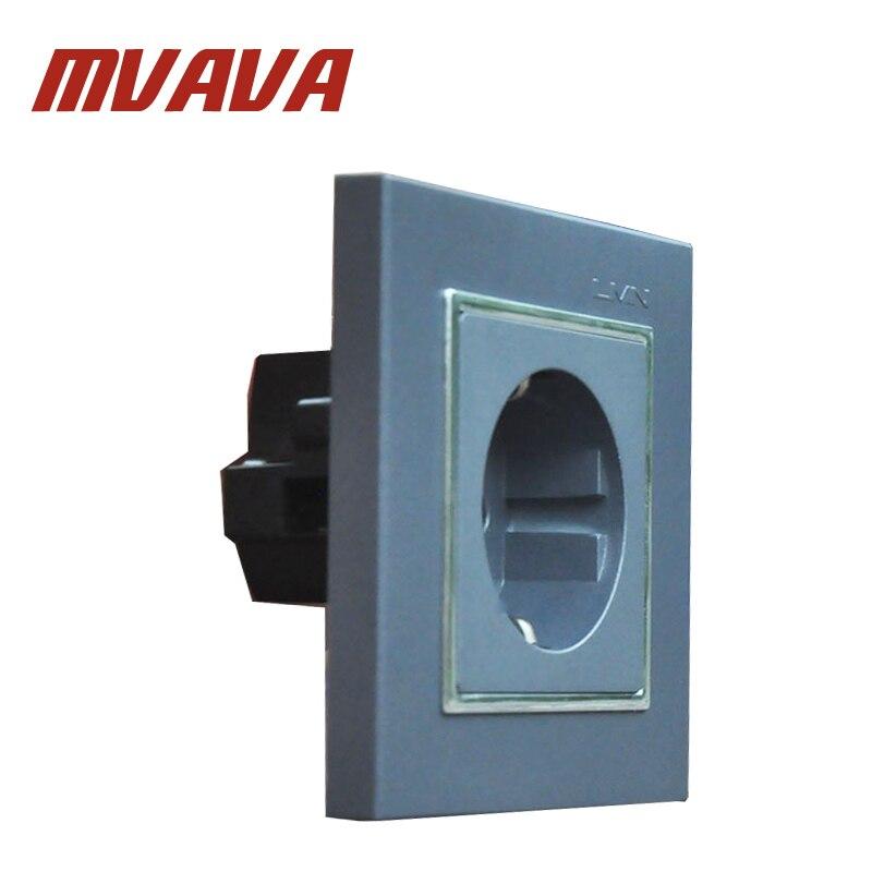 MVAVA EU German Standard Wall Power Socket Schuko Sockets Electrical ...