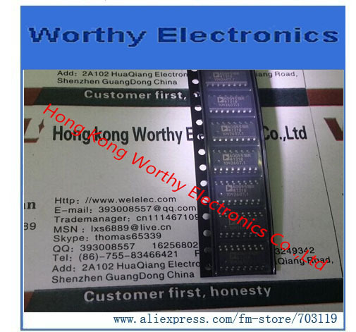 10 pieces IC SWITCH QUAD SPST 16SOIC