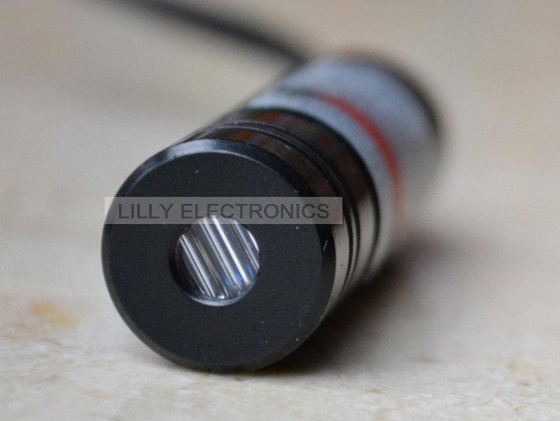 100mW 405nm Violet/Blue Laser Line Module w/US-Plug AC Adapter