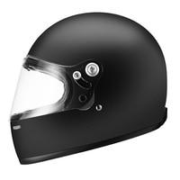 new AMZ matte black full face motorcycle helmet glass fiber vintage retro motorbike helmets jet scooter moto racing helmets