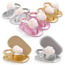 Summer Soft Pram Crib Shoes Baby Girl First Walkers Newborn Baby Girl Shoes(China)