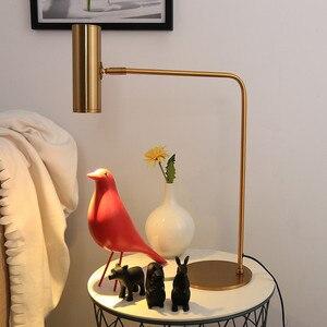 Luxury LED Table Lamp Gold Met