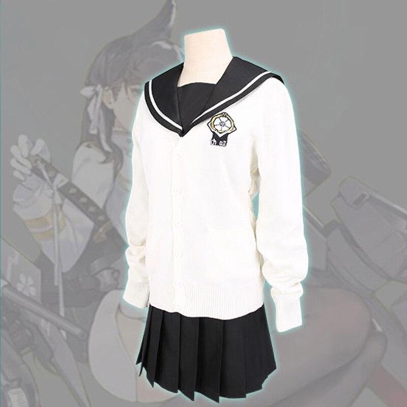 New Arrival Azur Lane IJN Takao/ IJN Atago Cosplay Costume Girls Sailor Suit Halloween Carnival Uniforms Japanese JK Dress