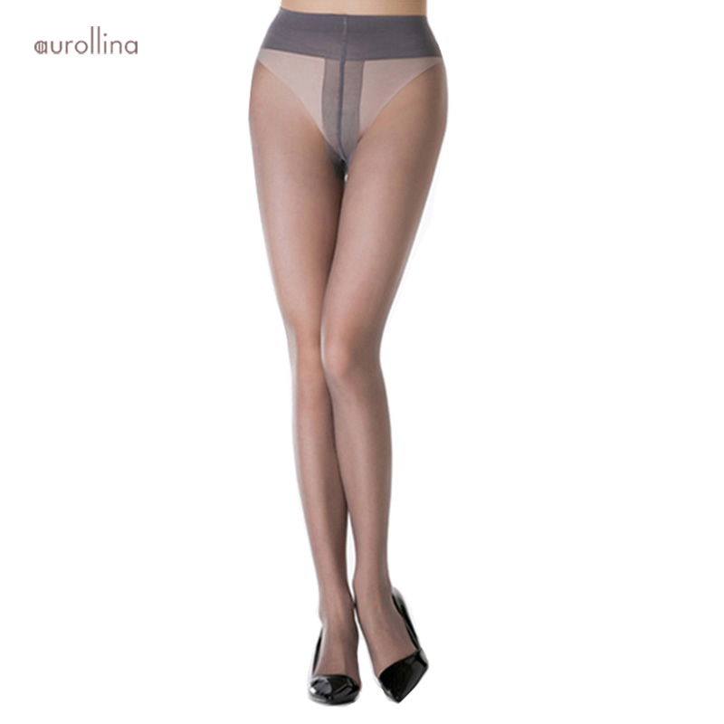 Stretch Footed Tights Women Sexy Stockings Extra Wide Waist Band Pantyhose Fancy Plus Size OL Formal Dress