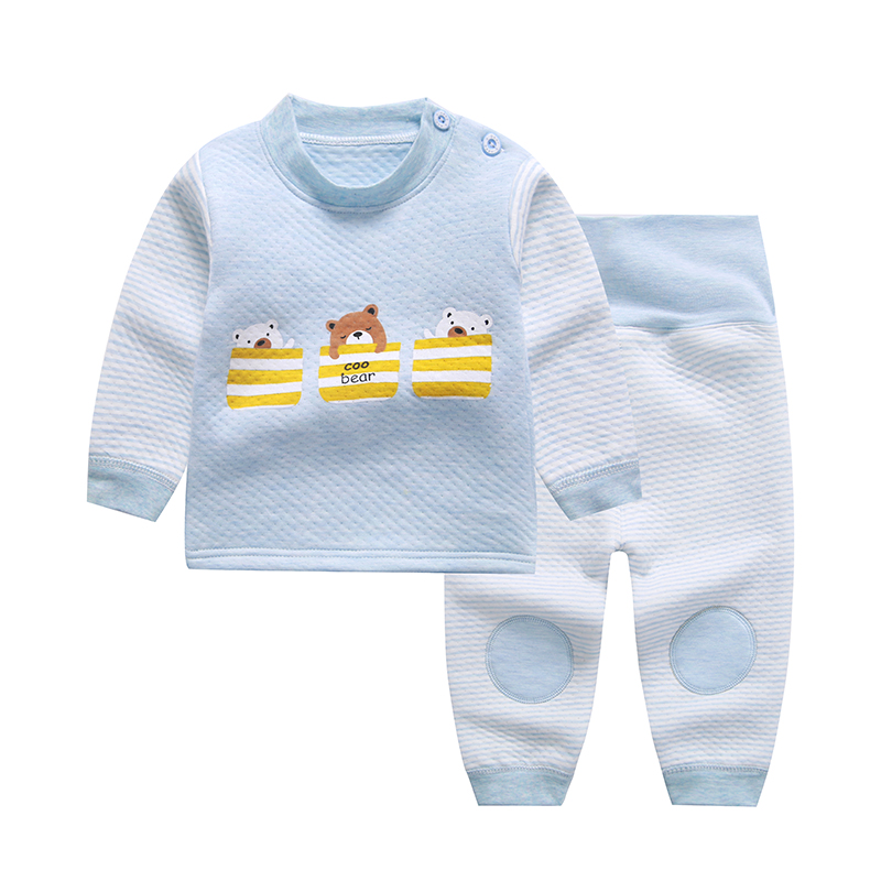 Pullovers Cartoon Baby Boys Girls Clothes Long Sleeve adorable cotton Baby's Sets Mbm11-Mbm15 cotton baby rompers set newborn clothes baby clothing boys girls cartoon jumpsuits long sleeve overalls coveralls autumn winter