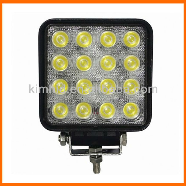 Super bright 48W tractor offroad LED work light bulb , working lamp, Fog light kit, off road LED car headlight , Free shipping