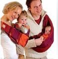 O Envio gratuito de 2017 novos algodão bebê suspensórios bebê multifuncional um ombro mochila estilingue sacos de inverno térmica