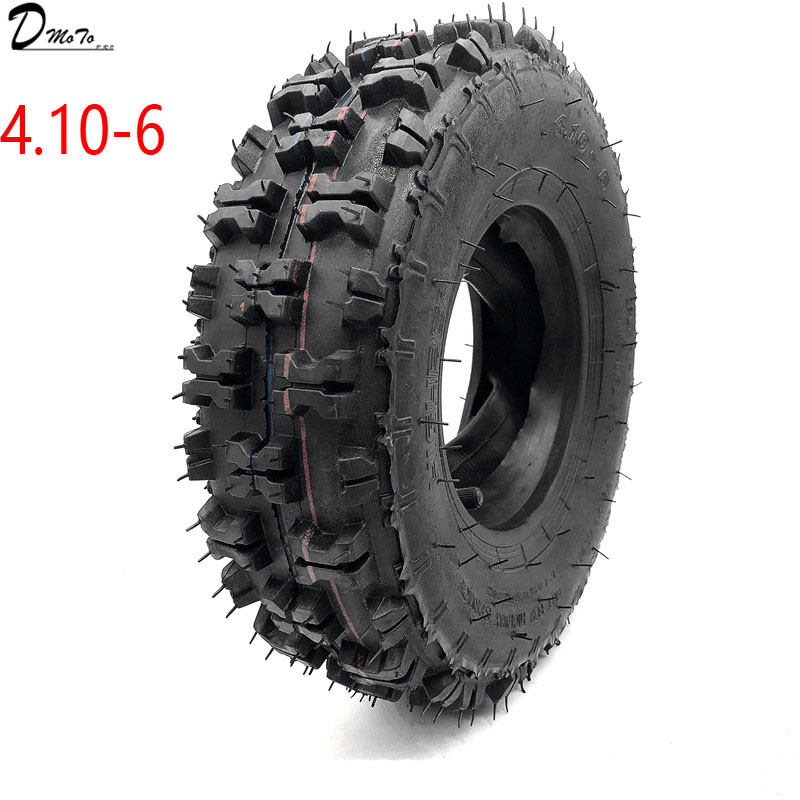 ATV Go Kart MIni Quad 4.10-6 Inch Tire Snowplow Tires Snowmobile Tires 4.10-6 Inch Beach Tires With Inner Tube