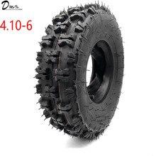 ATV Go kart MIni Quad neumáticos para nieve de 4,10 6 pulgadas, neumáticos para motos de nieve de 4,10 6 pulgadas, neumáticos de playa con tubo interno