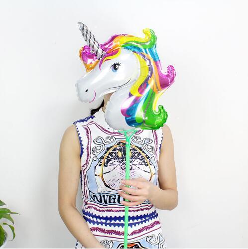 Globos Bobo redondos personalizados con 3M Alambre de tira Led Globos luminosos papel de unicornio decoración de boda fiesta de cumpleaños juguete - 6