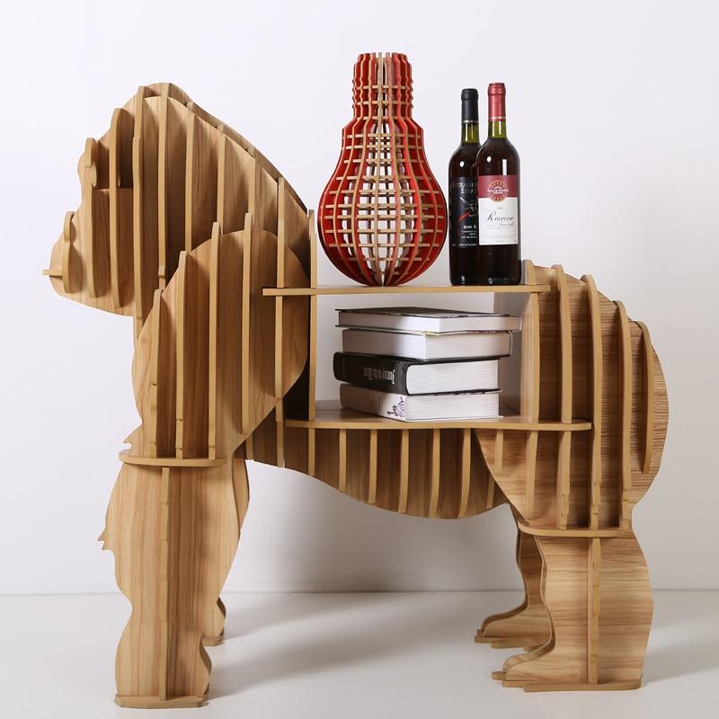 1 комплект 39 орангутанг APE Шимпанзе обезьяна столик/буфет Мебель для Книги по искусству украшения дома tm012m