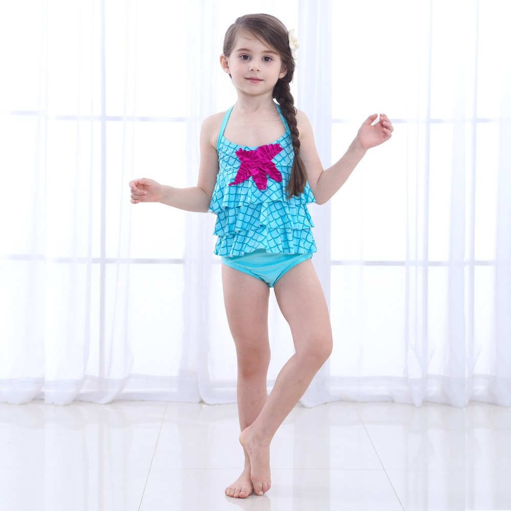 2018Baby Kids Mermaid Tail for swimming Girls Kids Fancy Beachwear Costume Swimsuit Swimmable Children Mermaid Tails with Bikini
