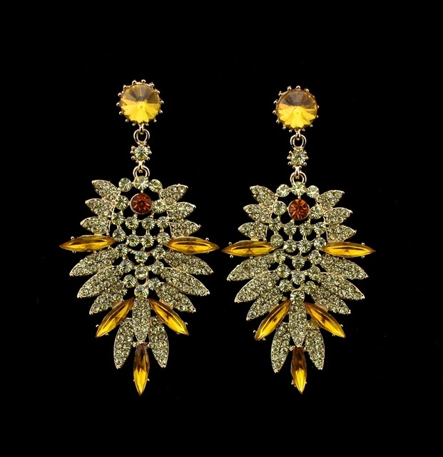 Statement Diamante Earrings
