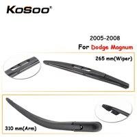 KOSOO Auto Rear Window Windshield Wiper Blades Arm Car Wiper Blade For Dodge Magnum 265mm 2005 2008  Car Accessories Styling|windshield wiper blades|car wiper blade|wiper blade arm -