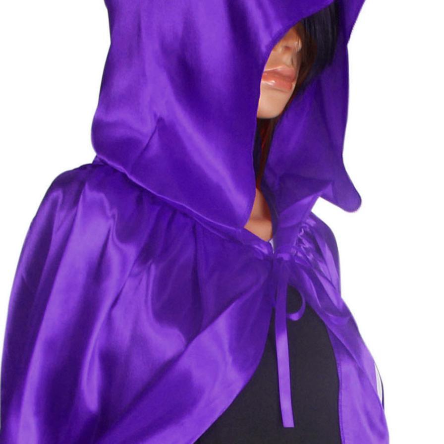 Mujeres frescas Unisex Manto Con Capucha Capa Abrigo Wicca Robe - Disfraces - foto 6