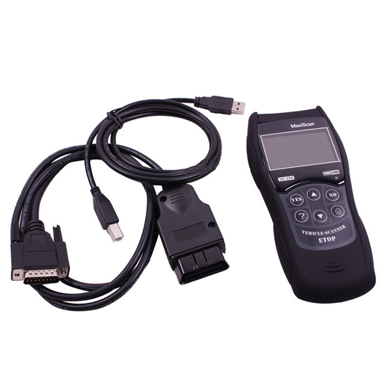 Image 3 - Auto Scantool MaxiScan Engine Fault OBD2 EOBD JOBD Car Code Reader VS 890 Diagnostic Scanner Tool Multi Language VS 890